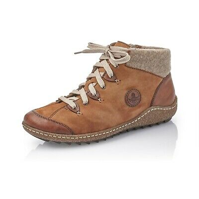Rieker L7513 23 Damen Stiefelette Boots braun Warmfutter NEU | eBay