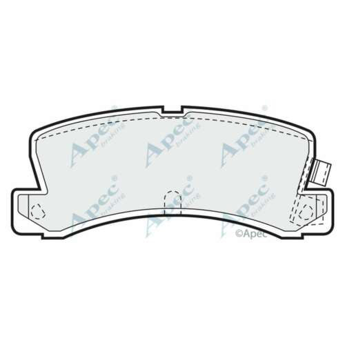 Fits Toyota Corolla Levin E9 1.6 Genuine Apec Rear Disc Brake Pads Set