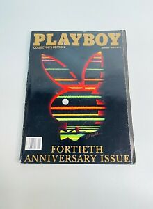 Playboy Collector's Edition 1994 Fortieth Anniversary Issue