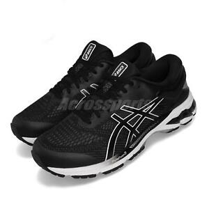 Asics-Gel-Kayano-26-2E-Wide-Black-White-Men-Running-Shoes-Sneakers-1011A542-001
