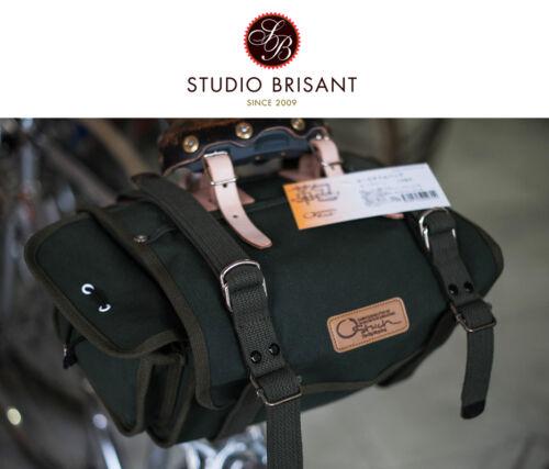 New ostrich Saddle Bag s-2 bolsa sillín
