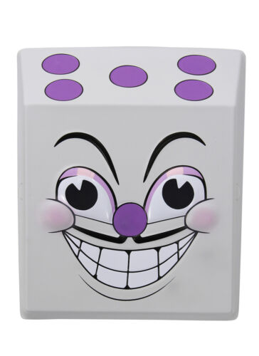 elope Cuphead King Dice Vacuform Costume Mask