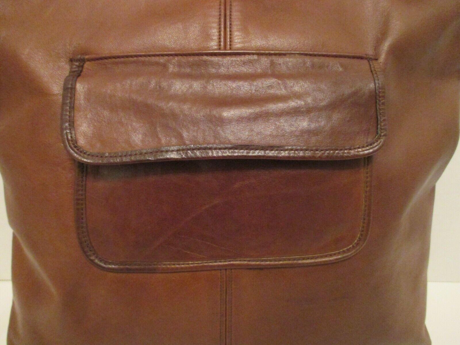 COACH Vintage Bonnie Cashin Pre-Creed Brown Leath… - image 4