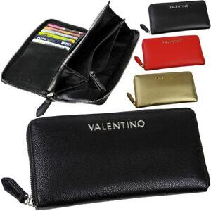 VALENTINO-Damen-Geldboerse-2-Geldscheinfaecher-12-Kartenfaecher-Geldbeutel-Farbwahl