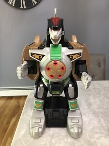 2015 Imaginext Mighty Morphin Power Rangers Green Dragonzord No Remote- Works!