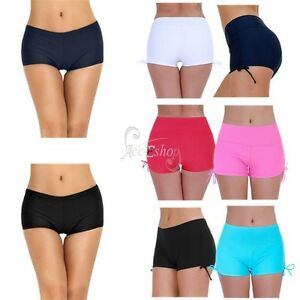 Women/'s Ladies Seamless Stretchy Boyleg Shorts Plain Underwear Comfy Boardshorts