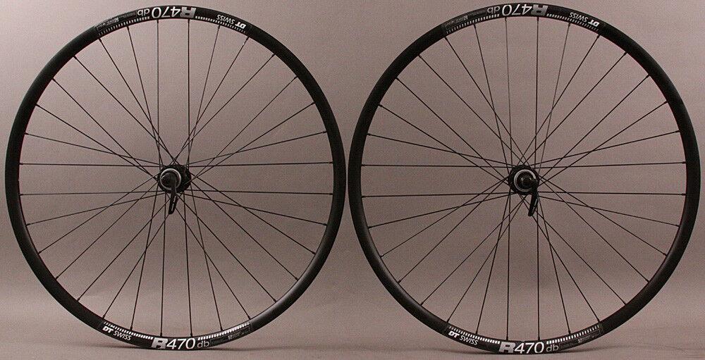 DT R 470 Road Disc Brake Gravel CX  Bike Wheelset 32 hole Shimano RS505 hubs QR  low-key luxury connotation
