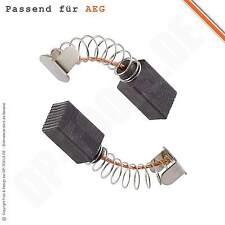 Kohlebürsten Kohlen Motorkohlen für AEG Bandschleifer HBS 100 6,5x9,5mm