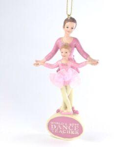World-039-s-Best-Dance-Teacher-Christmas-Ornament-NEW-Kurt-Adler