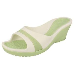 Crocs Ladies zeppa Sale con 99 £ zeppa con White Celery Sandalo ora Sassari By 7 qFUqnxBrz