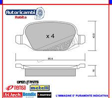 PASTIGLIE FRENO POSTERIORI ALFA 147 156 GT LANCIA LYBRA FIAT WVA 23517 2203241