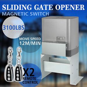 Sliding Gate Opener Door Operator 3100lbs Driveway Motor