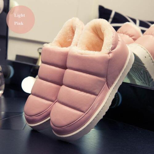 Fashion Hiver Bottines Femmes Hommes Bottes De Neige Peluche Chaud Imperméable Court Boot