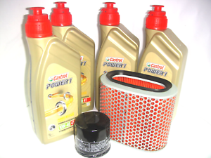 KIT-DE-MANTENIMIENTO-ACEITE-CASTROL-POWER1-10W40-HONDA-1100-VT-Shadow-C2-01-2002