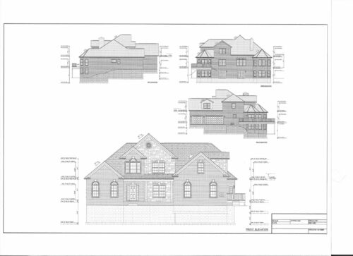 Full Set Of Two Story 5 Bedroom House Plans 3 557 Sq Ft Home Improvement Building Hardware