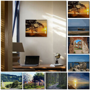 DIY-Paint-By-Number-Kit-Digital-Oil-Painting-Canvas-No-Framed-Home-Wall