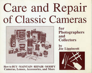 Care-amp-Repair-of-Classic-Cameras-Lippincott-Signed-to-Peter-Dechert-SCARCE