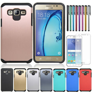 Shockproof-Armor-Rubber-Bumper-Hybrid-Hard-Case-Cove-For-Samsung-Galaxy-J7-Neo