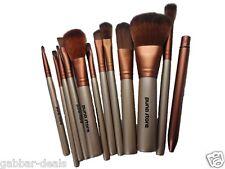 Makeup Brush Set - 12 Piece Set with Storage Box (P)