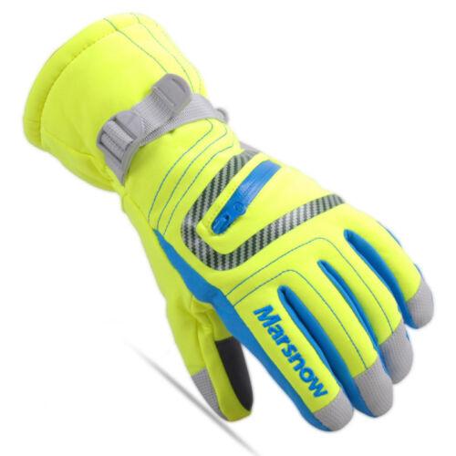 MARSNOW Lovers Womens Mens Waterproof Winter Ski Snowboard Thermal Warm Gloves
