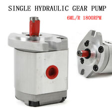 Mini Hydraulic Gear Pump High Pressure Gear Pumps Single Aluminum Alloy Sale Usa