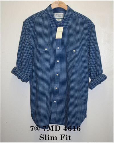 Lucky Brand,Men/'s Casual Plaid Shirts,Long Sleeve,Size M/_L/_XL/_2XL