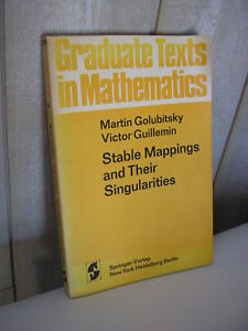 M. GOLUBITSKY & V. GUILLEMIN : Stable mappings and their singularities - France - Objet modifié: Non Langue: Anglais - France