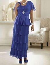 sz 14 Tiered Ellexia Gown Dress wedding special ocassion by Ashro new