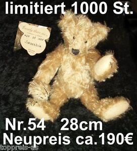Bearly-There-TEDDY-BAR-SAMMELBAR-SMOOCHIE-28cm-LIMITIERT-Linda-Spiegel-Lohre-NEU