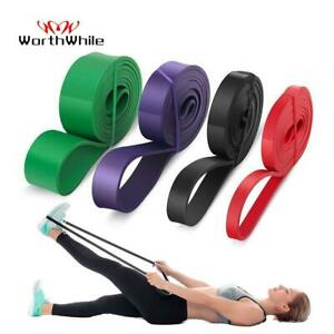 Worthwhile Gym Fitness Resistance Bands Yoga Stretch Pull Up Assist Bands Rubber