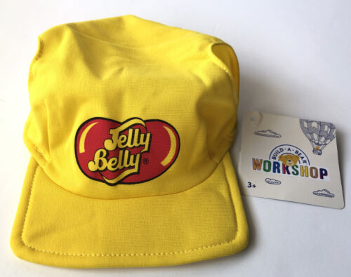 New Build A Bear Workshop Jelly Belly Yellow Lab Baseball Cap Hat For Teddy Bear