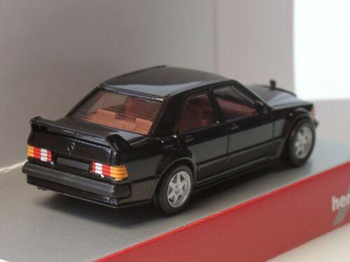 - 1: 87 negro E 2.5 16V + 420310 Herpa 2 x Mercedes E 190 430654 blanco