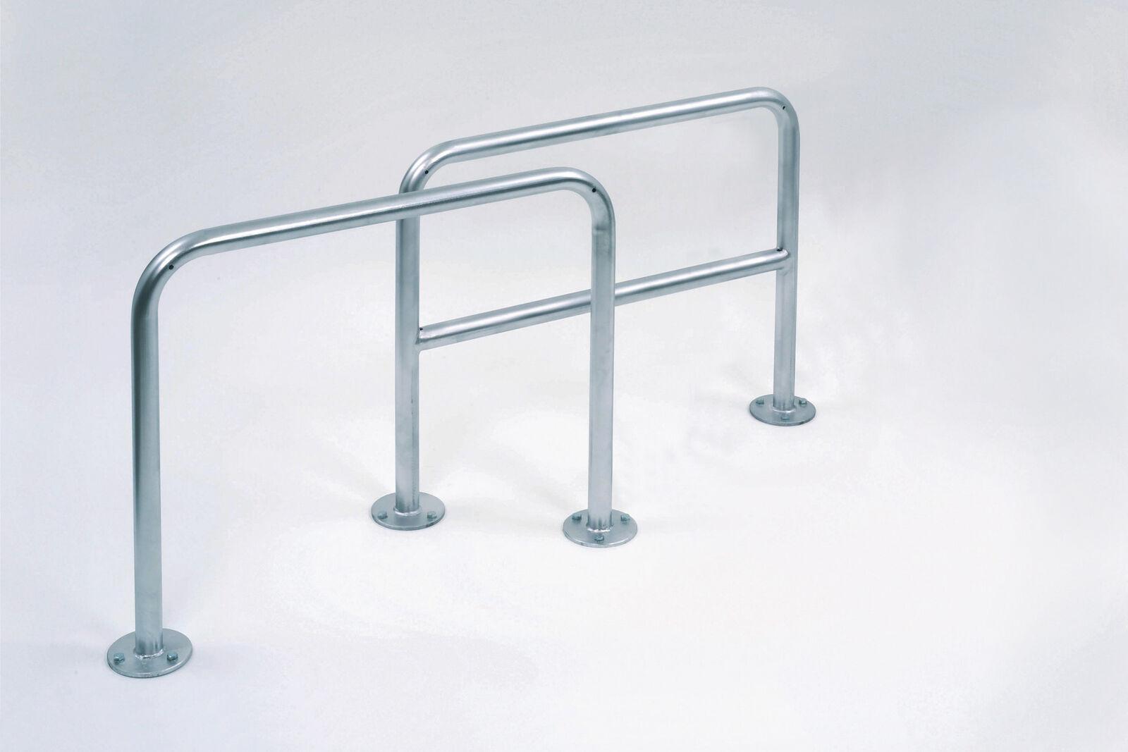 Fahrrad Anlehnbügel 9100   Fahrradständer   Anlehnparker   Anlehnsystem