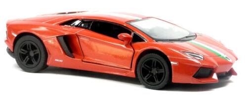 Lamborghini Aventador LP700-4 orange Sammlermodell ca 12,7cm Neuware KINSMART