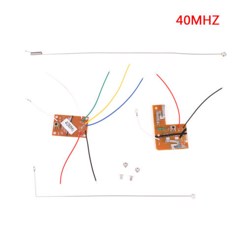 4CH 40MHZ remote transmitter /& receiver board with antenna for  toy partsODJH