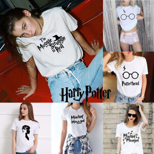 cfa598457b8 Harry potter T-shirt Unisex Tee Shirt Funny Wizard Shirt Tops S M L ...