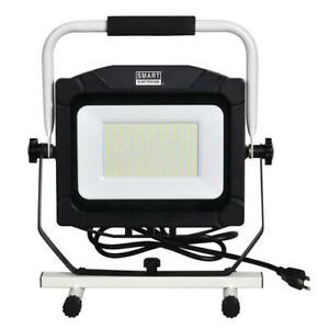 Details About 16 Black Aluminum Portable Led Work Light Adjustable Soft Grip 10000 Lumen Lamp