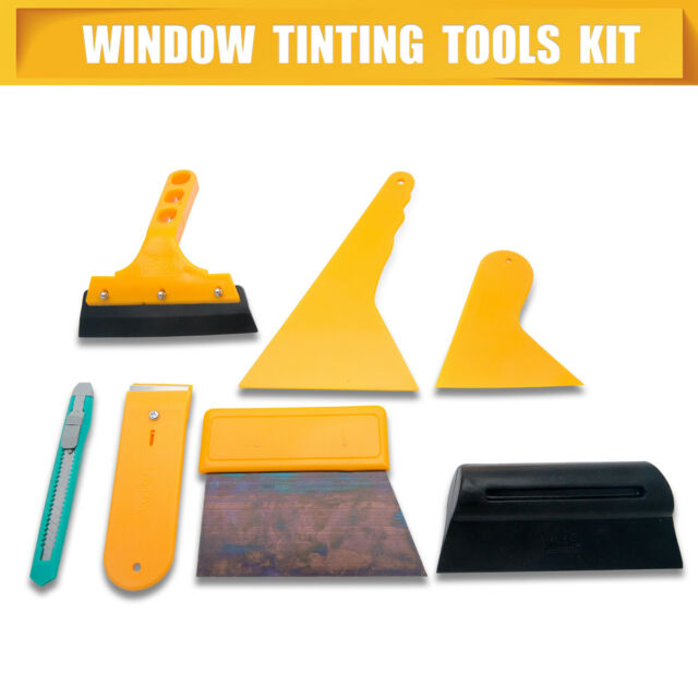 Window Tint Tools Car Wrapping Application Kit, Sticker Vinyl Sheet Squeegee
