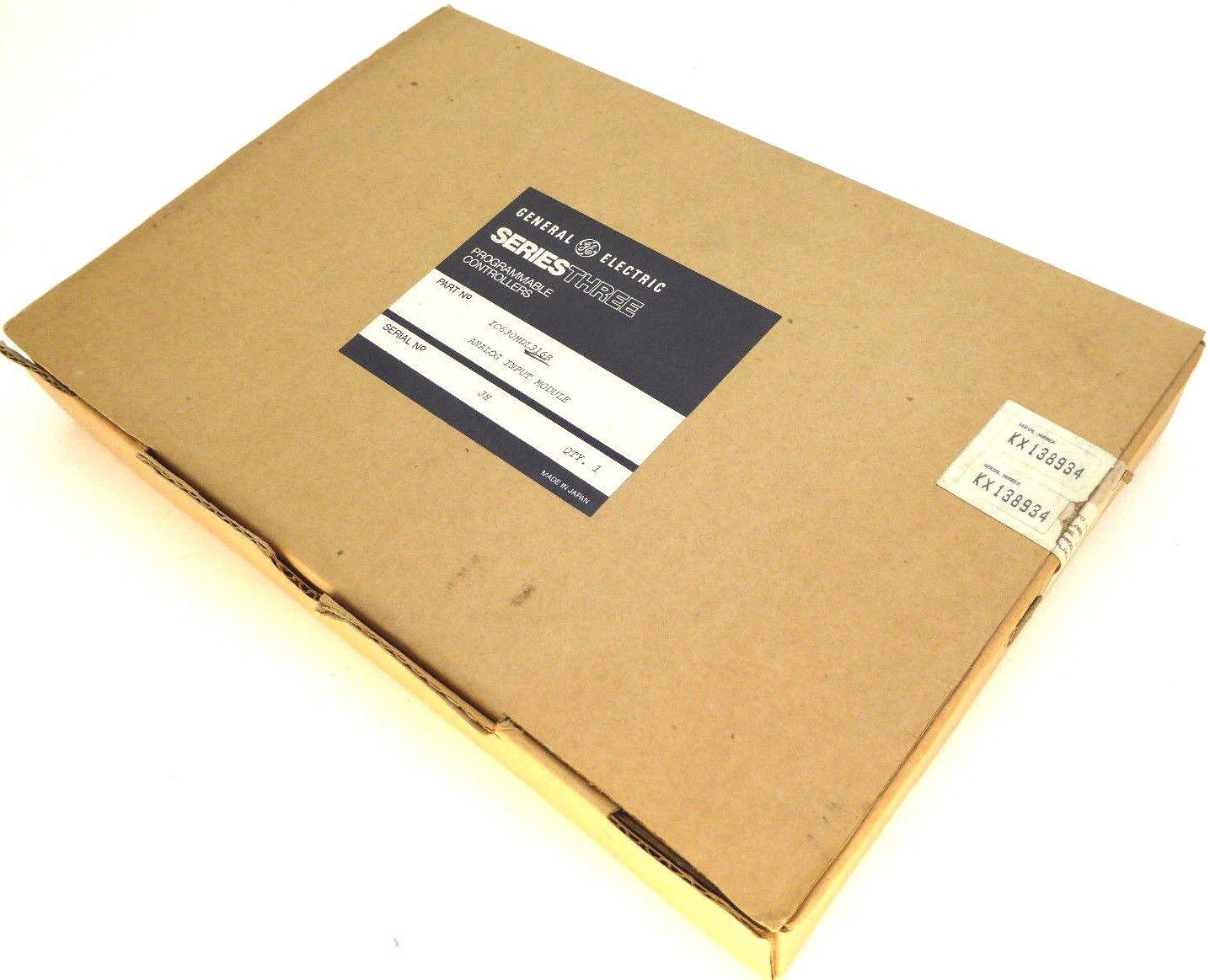 GE Fanuc  IC630MDL316B   Series Three  Analog Input Module  NEW IN BOX