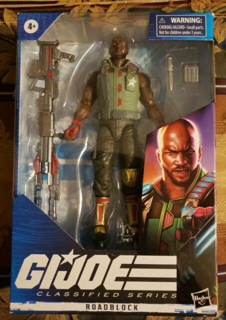 "G.I. Joe Classified Series Roadblock Hasbro 6"" Action Figure New Factory Sealed"
