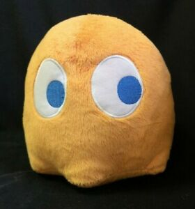 Pacman 7 Ghost Plush Orange Clyde