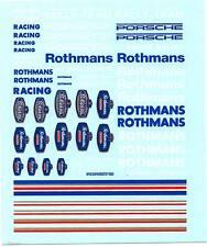 Decalbogen Rothmans mit Streifen-Großbuchstaben 1:43 (296)