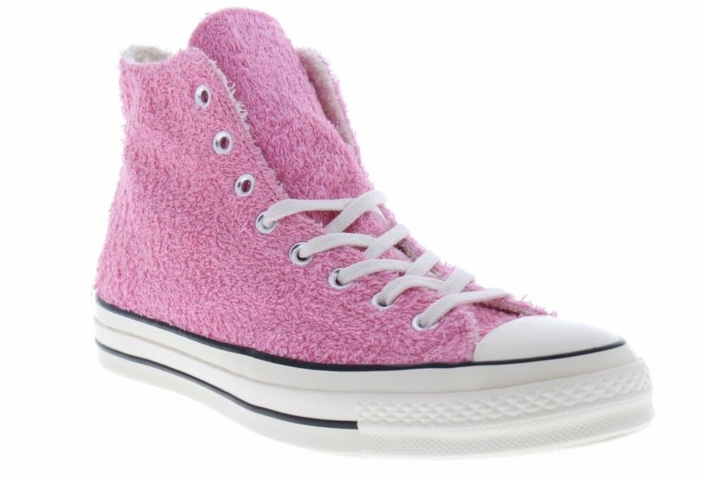 Converse Chuck Taylor All Star Hi Easter Bunny Terrycloth Pink 70 shoes 155446C