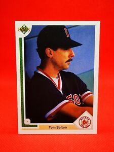 Upper Deck 1991 baseball MLB US Boston Red Sox #86 TOM BOLTON