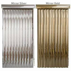 Blindden Mirror Vinyl Vertical Blinds Custom Sizes