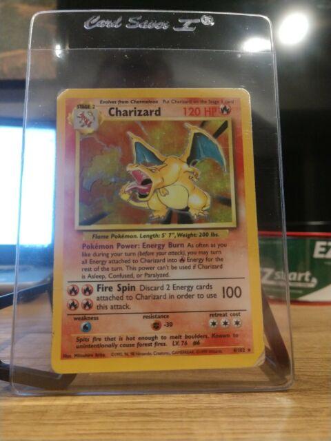 Charizard - Base Set 4/102 - Holo Rare Pokemon Card