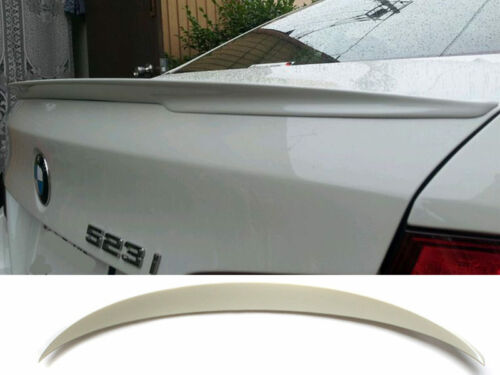 Performance Type Unpainted Aero Trunk Boot Spoiler For BMW F10 528i 535i 550i