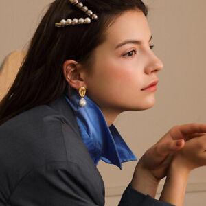 Fashion-Women-pearl-Stud-Earring-irregularity-Dangle-Drop-Earrings-Jewelry-Gift