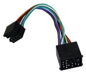 Adaptador cable enchufe ISO para autoradio de BMW serie 3, 5, 7 y serie 8