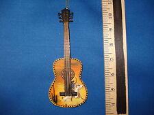 Guitar Ornament Cowboy Themed W6337  35